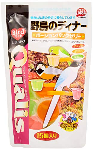 pezzuisibasi kuorisu Wild Bird Dinner po-syonzeri- Pack of 15