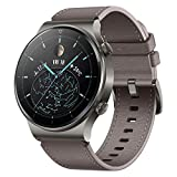 HUAWEI Watch GT 2 Pro Smart Watch 1.39 inch AMOLED Touchscreen SmartWatch, 14 Days Battery Life, Heart Rate Tracker, Blood Oxygen Monitor, GPS Waterproof Bluetooth Calls for Android, Nebula Gray