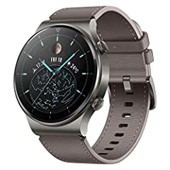 """【1.39"""" AMOLED Sapphire Glass Display, Titanium Body. Various Watch Faces】 The wear-resistant sapphire watch dial pairs seamlessly with the titanium frame for a lightweight and solid design. Select the watch face with over 200+ choices (This feature i..."""