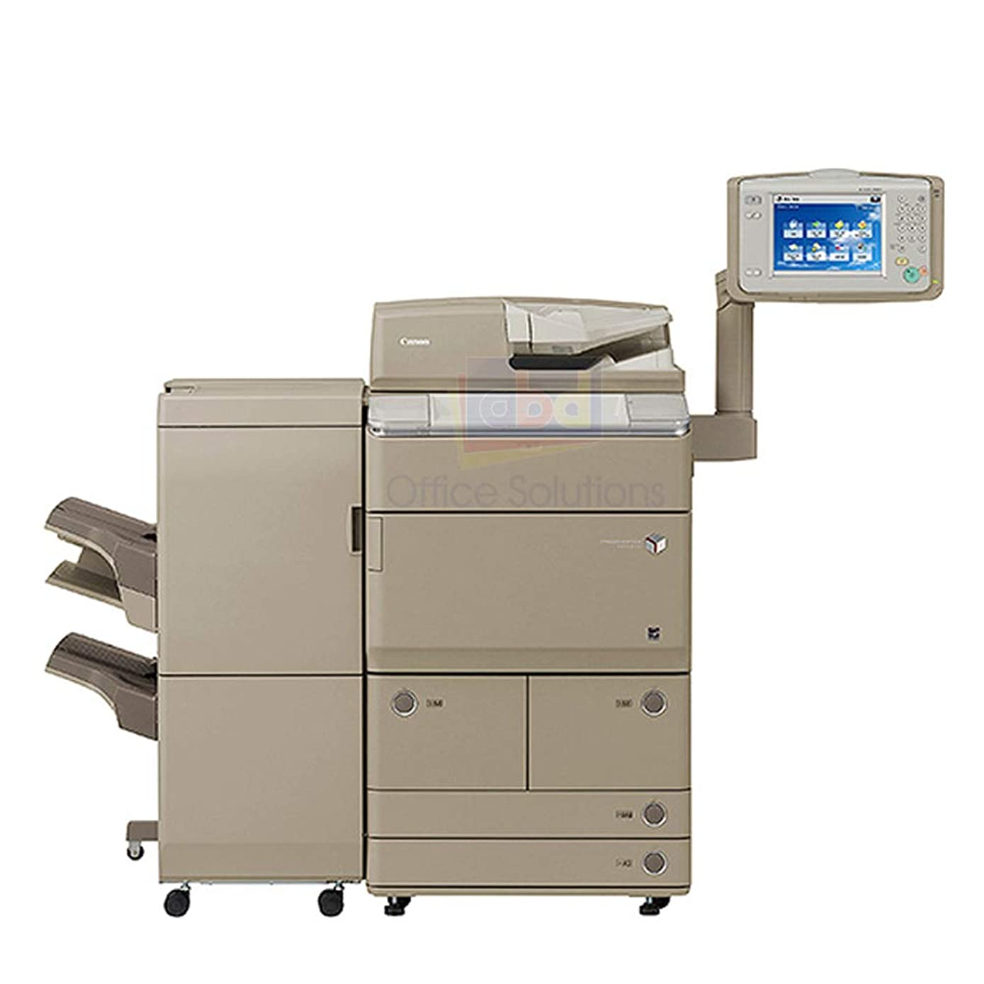 Canon ImageRunner Advance 8285 A3 Monochrome Laser Multi-Function Copier - 85ppm, Copy, Print, Color Scan, Send, Store, Auto Duplex, Network, Staple Finisher, A3+/SRA3/A3/A4/A5, 2 Trays, Dual Drawers