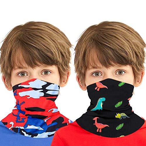 Bodatu, multifunktionelles Kopf-/Halstuch / Gesichtsmaske / Rundschal / Tube / Bandana, Kinder, FLDAD3, Einheitsgröße