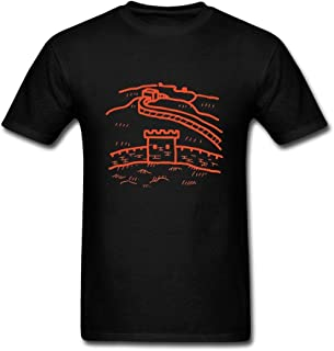 Nicesne China Beijing The Great Wall T Shirt For Men