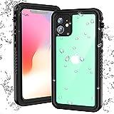 iPhone 11 Waterproof Case, Full Body Heavy...