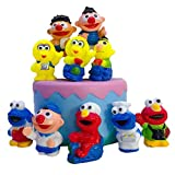 Sesame Elmo Cake Toppers for Baby Shower Birthday Party Cake Decoration