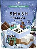 Hot Cocoa by SMASHMALLOW | Snackable Marshmallows | Non-GMO | Organic Cane Sugar | 100 calories | (4.5 oz)