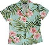 RJC Women Pale Hibiscus Orchid Fitted Blouse