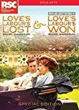 Shakespeare: Love's Labour's Special Edition [Love's Labour's Lost & Love's Labour's Won / Much Ado About Nothing] [2 DVDs] [Reino Unido]