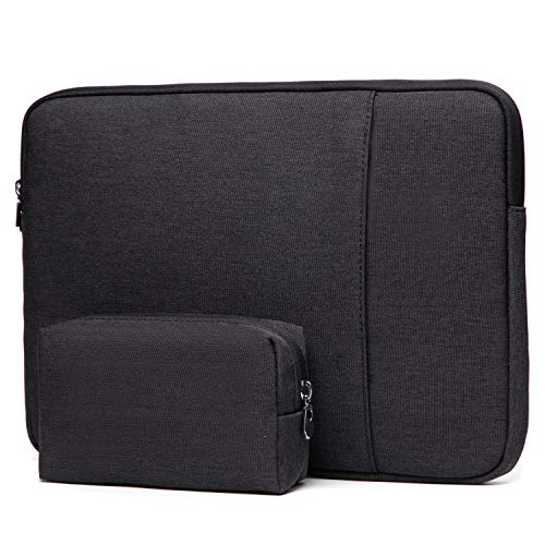 HYZUO 13 Inch Laptop Sleeve Protective Case Cover Compatible with Macbook Pro 13 2016-2020/ MacBook Air 13 2018-2020/ Dell XPS 13/ iPad Pro 12.9 2018-2020/ Surface Pro X 7 6 5 4 with Small Bag