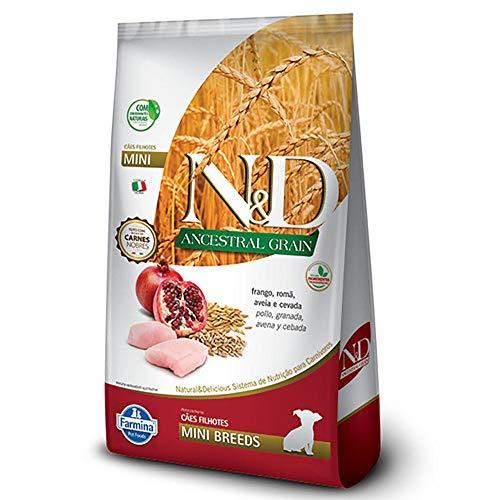 Ração N&D Ancestral Grain Filhotes Raças Pequenas Frango e Romã 2.5kg
