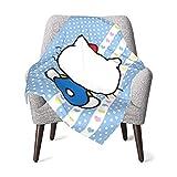 DNBCJJ - Manta para bebé, diseño de Hello Kitty