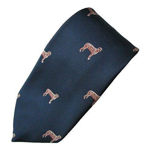 Irish Wolfhound Tie (Men's Dog Breed Neck Tie)