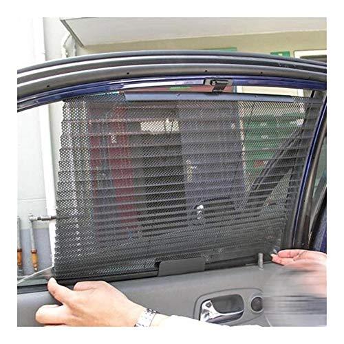 Parasol de Coche Ventana de Coche de la sombrilla Cortina Negro Malla Lado del Vidrio Trasero Parasol Cubierta Visera de Auto Parabrisas UV Protector Accesorio Auto Universal