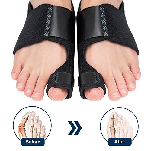 ZOUYUE Bunion Corrector, Orthopedic Bunion Splint, Adjustable Big Toe Separator...