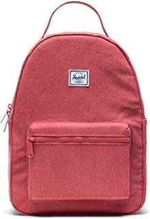 Herschel Nova Small Ladies Small Mineral Red Cotton Canvas Casual Backpack 10502-02970-OS