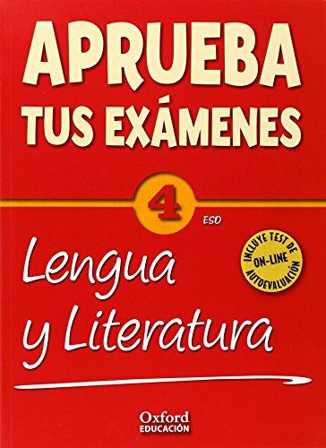 Aprueba tus Exámenes: Lengua Castellana y Literatura 4º ESO Pack: Cuaderno Test 14 - 9788467385939