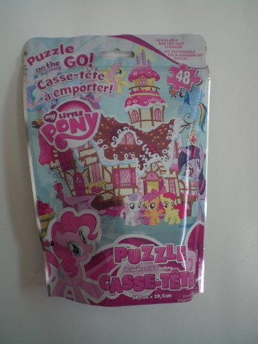 My Little Pony–48Piece Puzzle on the go–Sacchetto Richiudibile by Cardinal Industries