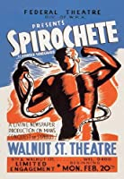 "Spirochete Presented by、連邦シアターDivision WPAのFineアートキャンバス印刷( 20"" x30"" )"