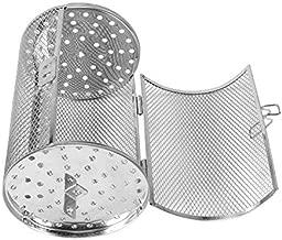 Yosoo 12x18cm Stainless Steel Oven Roast Basket Rotisserie Grill Basket Baking Rotary Nuts Beans Peanut Basket BBQ Grill Bakeware