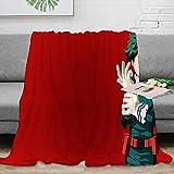 Elliot Dorothy My Hero Academia cómic cartel anime manta de franela suave para cuna cama sofá silla manta acogedora cama 152,4 x 127 cm