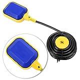 Yosoo Schwimmerschalter, Sensor-Ebene Wasser Flüssigkeit Schwimmerschalter, für Pumpe Tank...