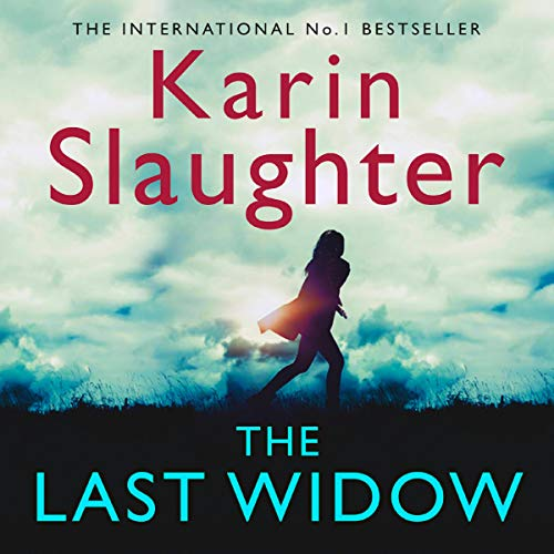The Last Widow audiobook cover art