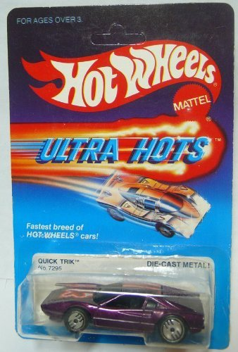 Hot Wheels Quick Trik Ultra Hots - RARE 1980s Ferrari 308 Mint on Card
