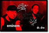 Eminem und Dr. Dre Kunstdruck (mit signierter Autogramm