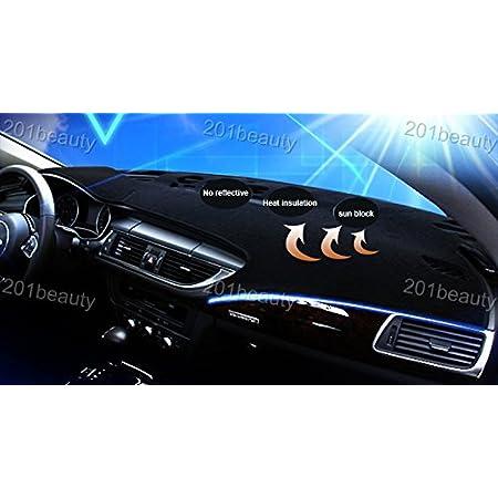 ytbmhhuoupx Dashboard Cover for Hyundai Elantra 2002-2006 Dashboard Carpet Original Car Custom Dash Mat Anti-Glare Leather Black