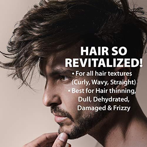 LetsShave Smooth & Shiny Finish Revitalizing Shampoo for dull, damaged, dehydrated hair, 250 ml