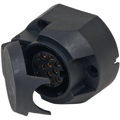 Cartrend 80113 Steckdose 13-polig, 12 Volt, ISO 11446, DIN-V 72570 T.1
