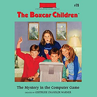 The Mystery in the Computer Game     A Boxcar Children Mystery              De :                                                                                                                                 Gertrude Chandler Warner                               Lu par :                                                                                                                                 Aimee Lilly                      Durée : 1 h et 32 min     1 notation     Global 5,0