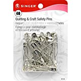SINGER Quilting &Craft safety Pins(40 pieces)