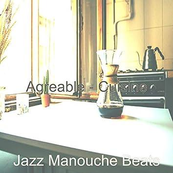 Agreable - Cuisine