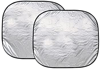 Custom Accessories 17951 28 1/2-Inch x 31 1/2-Inch Nylon Loop Solar Shield Sunshade 2 Piece