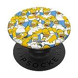 The Simpsons Homer Simpson Print PopSockets PopGrip: Agarre intercambiable para Teléfonos y Tabletas