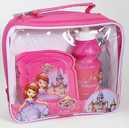 Sofia the First Disney Sofia Le 3 Piece première Lunch Bag Set