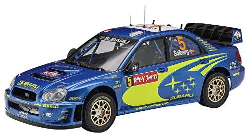 Hasegawa 1:24 Subaru Impreza WRC 2005 'Rally Japón', Multicolor (HA20353)