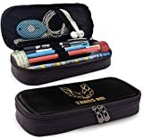 LeCoid Trans Am Firebird Logo Pencil Case Pen Bag Pouch Holder Makeup Bag for School Office College