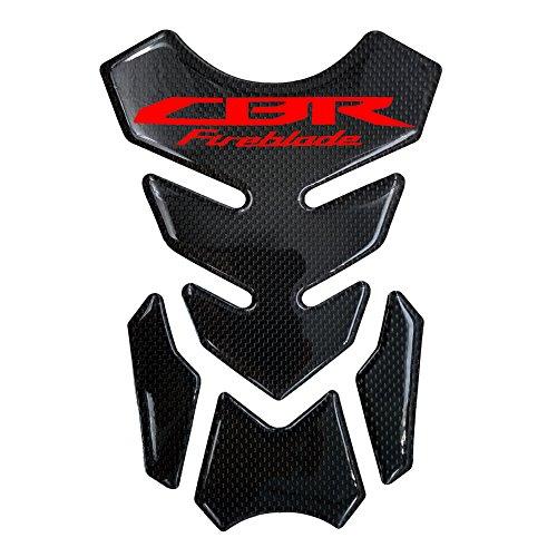 Motorcycle Sticker 8.6 inches Carbon Fiber Fuel Gas Tank Protector Pad for Honda CBR fireblade CBR 1000 RR