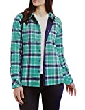 Orvis Ladies' Flannel Shirt Jacket (L, Green)