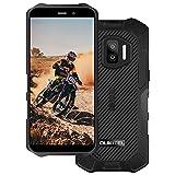Telefono Móvil Resistente Agua y Golpes OUKITEL WP12, Android 11 Quad Core,13MP+2MP+2MP Cámara Rugged Smartphone,5.5''HD 4GB+32GB Robusto IP68,Batería 4000 mAh Dual SIM/NFC Movil Libre Barato Negro