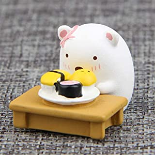 Action & Toy Figures - Japanese groceries corner creatures cute couple cat bear sushi beautiful table food version di land...
