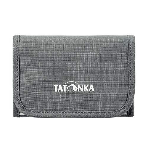 Tatonka Folder Geldbeutel, Titan Grey, 12,5 x 8,5 x 1 cm