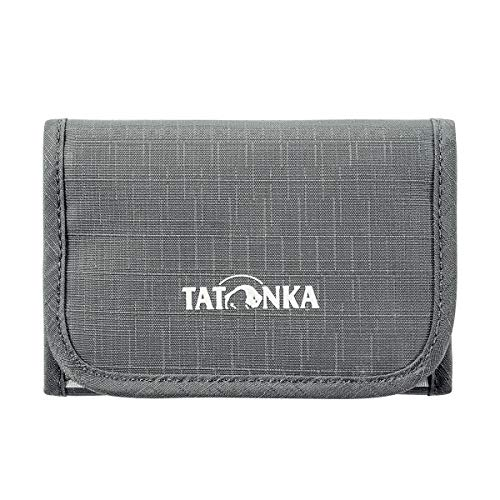 Tatonka Folder Geldbeutel, Titan Grey, 12,5 x 8,5 x 1 cm