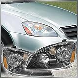 Halogen Headlamps Headlights Left LH & Right RH Pair Set for 05-06 Nissan Altima
