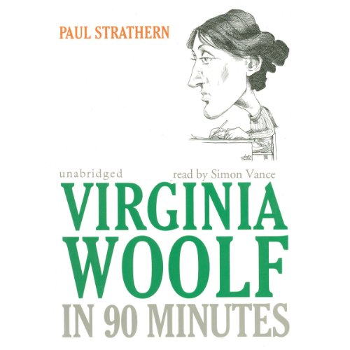 Virginia Woolf in 90 Minutes audiobook cover art