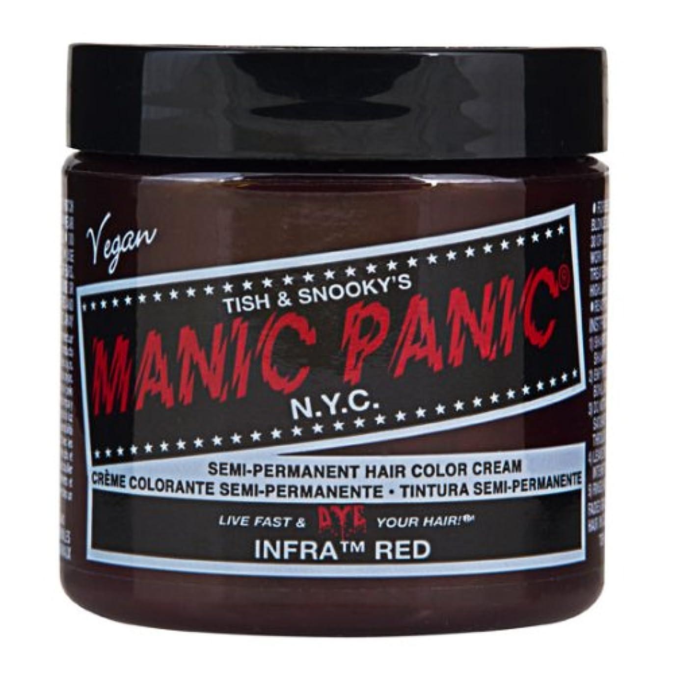 とティームますます感嘆マニックパニック MANIC PANIC ヘアカラー 118mlインフラレッド ヘアーカラー