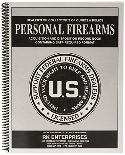 Personal Firearms Record Book (51 Entry)