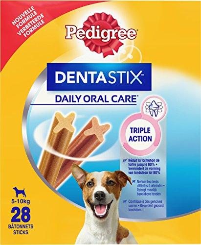 PEDIGREE Dentastix - Friandises pour Petit Chien, 112 bâtonnets à mâcher pour l\'hygiène bucco-dentaire (16 sachets de 7 Sticks)