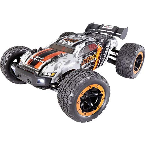 Reely Jovage 4x4 Orange, Weiß Brushed 1:16 RC Einsteiger Modellauto Elektro Truggy Allradantrieb (4WD) RTR 2,4 GHz Inkl